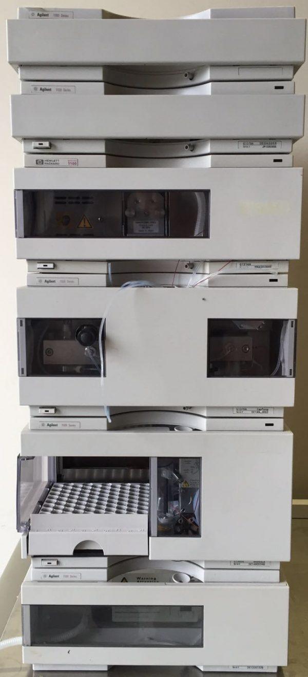 AANBIEDING: AGILENT 1100 HPLC